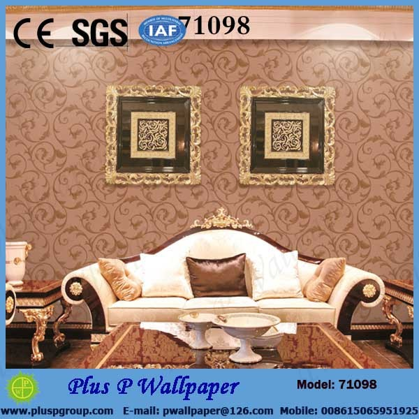 Plus P Modern magnetic Wallpaper/PVC Vinyl Wallcovering/Wall paper