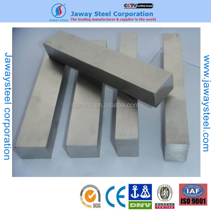 High quality Japanese 303 stainless steel square bar , 304 stainless steel bar