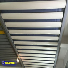 Good appearance curved aluminum false ceiling