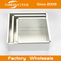 Wholesale customized aluminum cake pan molds for the perfect gauge heat conducting