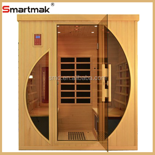 Ce approval high quality canadian hemlock saunadry sauna for Seks in the bathroom