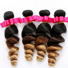 Grade AAAAAA No Chemical Processed star bead hair loose wave fayuan hair extension