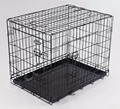 "30"" Dog Cage, Black Finish"
