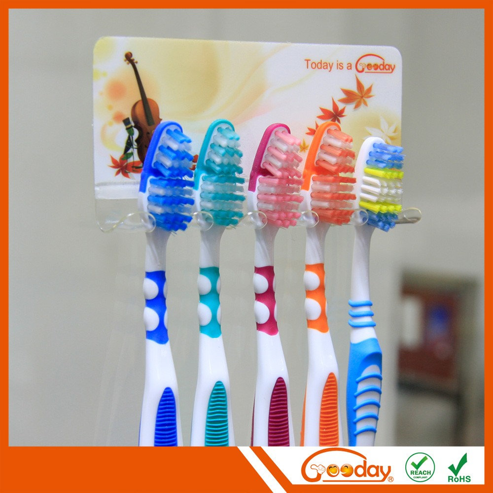 2017 fashion plastic lovely toothbrush holder