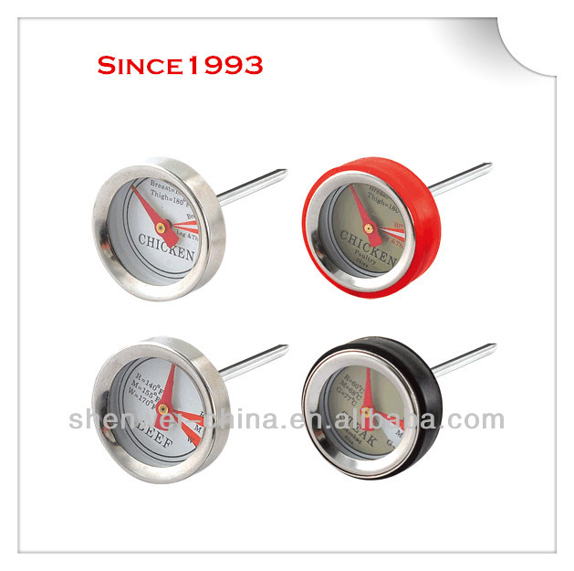 Mini Stainless Steel Beef Thermometer for all kind of cooking and BBQ