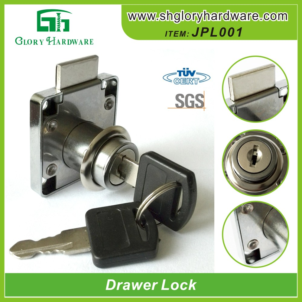Metal Drawer Lock, High Quality Desk Drawer Lock