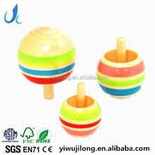 Classic Toys Wooden Spinning Top
