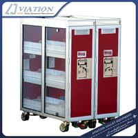 Aircraft Inflight Service A Meal Cart Airline Food Box