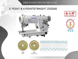 2284 HIGH SPEED ZIGZAG SEWING MACHINE ( 1 STEP 2 POINT , 3 STEPS 4POINT FUNCTION )
