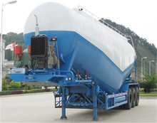 Factory price Vacuum tire optional dry used bulk cement tanker truck trailer