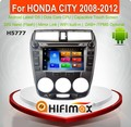 Hifimax Android 6.0 car dvd audio navigation system FOR HONDA CITY 2008-2012 WITH OCTA CORE 32G 1080P HD1024*600 Mirror Link