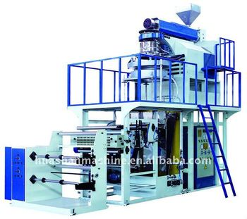 High Speed Rotary Die Inflation Machine For PP
