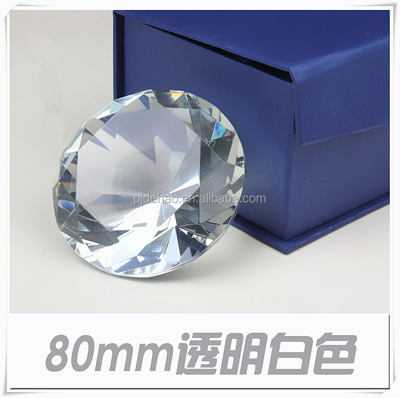 K9 Machine Cut Quality Crystal Diamond Paperweight