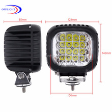 Led guang zhou 48 watt Working led lights 12volt offroad auto 48w led working light for car