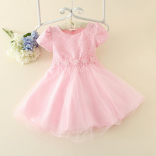 High quality Turkey pageant Pink princess tutu girls party dress 5 years old girl dress clothing frock suits for baby girl