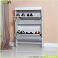 USA market mirror shoe rack designs wood from factory direct