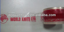 large bopp sealing printed tape logo printed packing tape