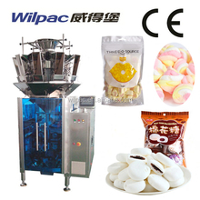 Cotton Candy Small Scale Automatic Weigher Filling Packing Machine
