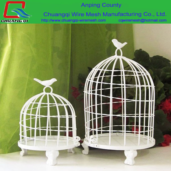 2016 New Design White Decorative Bird Cages