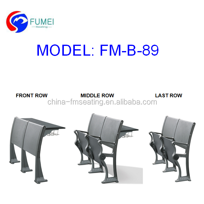 FM-B-89 modern school desk chair for college student