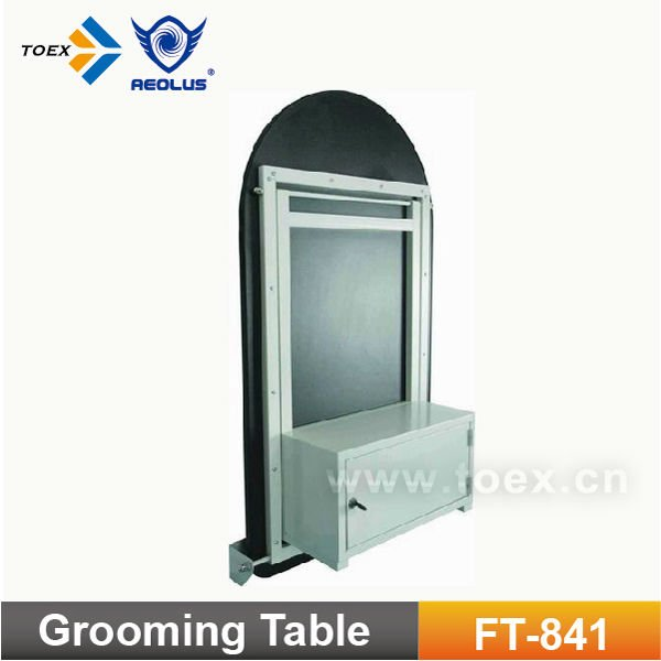 Pet Folding Table Pet Grooming Table with Cabinet FT-841