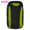 New design canvas waist sports arm bags large-screen mobile phone bags outdoor waist pack