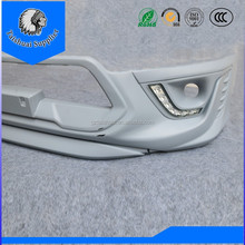 thailand quality and style 4x4 toyota hilux revo trd 2016 front bumper with led drl daytime running lights