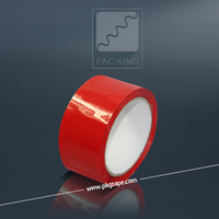 2015 Red 45 Micron BOPP Packaging Tape
