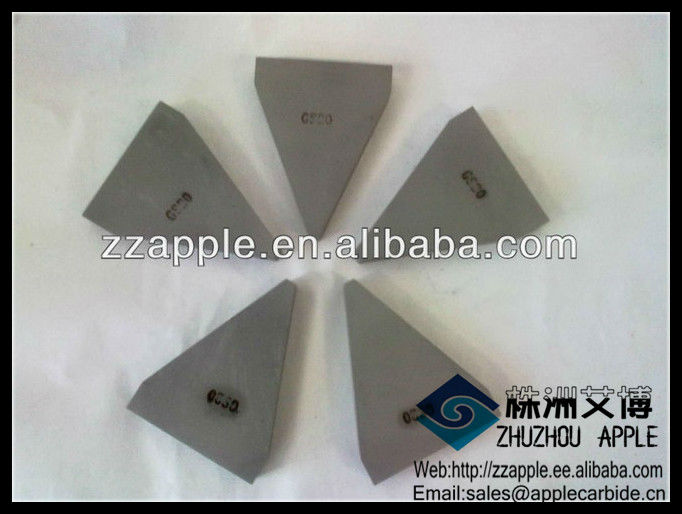 VARIOUS Tungsten Carbide Brazed Tips(yg6/yg15/p30)