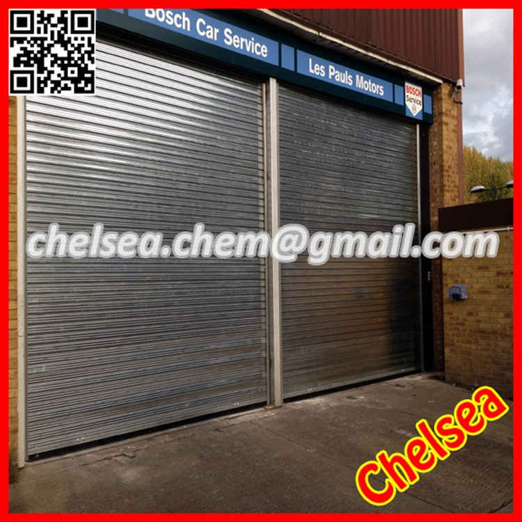 Motorized roll up steel doors, industrial roll up steel door