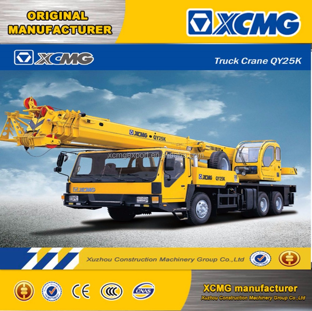 XCMG QY25K-II 25ton mobile crane 25 ton mobile crane (more models for sale)