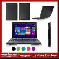 PU Leather Case for ASUS Transformer Book T100 Black