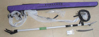 garden tools 1.6-3m telescopic aluminum fruit picker for Olive mango cherry apple F040203