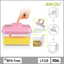 BPA Free 700ML Food Grade BPA Free Rectangle Plastic Storage/ Airtight Tableware Flour Plastic Container