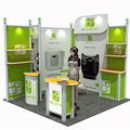 Detian Offer aluminum frame 10x20 to 10x10 modular booth system
