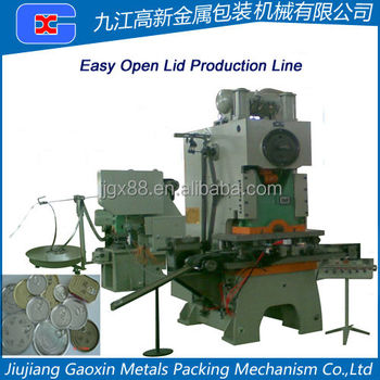 Easy Open Cap Production Line,Automatic & Semi-automatic Available For Your Choosing