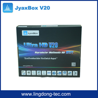 Yes High Definition hd combo dvb-s2 dvb-t satellite receiverJyaxbox Ultra V20 with JB200 8PSK and wifi antenna