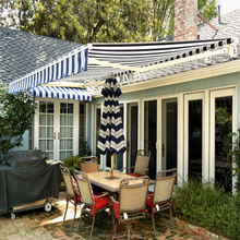 Aluminum frame porch retractable roof awnings