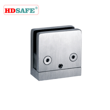 stainless steel shower door glass clip & hinge