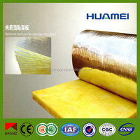 Thermal insulation marerials heat insulation fire-proof glass wool with aluminium foil