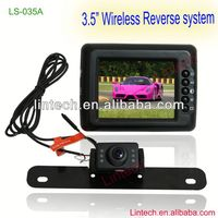 2013 Best price!! 3.5'' wireless video registrator for car LS-035A