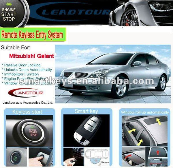 Can Bus Car Alarm Passive Keyless Entry System Engine Start Stop System