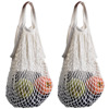 Cotton Net Shopping Tote Ecology Market String Bag Organizer
