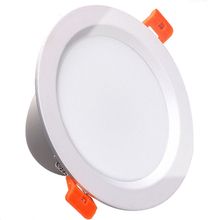 China supplier high quality SMD 5730 round 6w dimmable led downlight