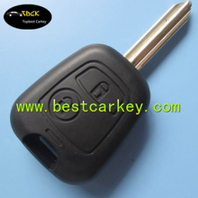 Topbest housing car key for 2 button car remote key shell key car