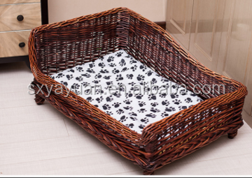 New creative Beautifully wicker dog bed