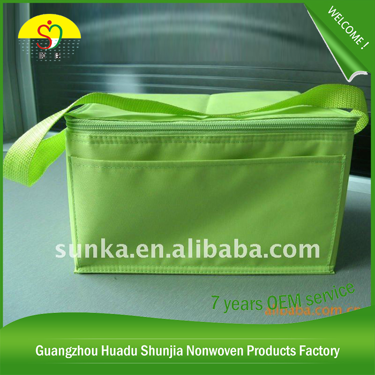Polyester Cooler Insulated Cooler Bag Ice Cream Cooler Bag