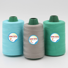30% Cotton Combed Raw White core polyester sewing thread 40/2 402 40s/2