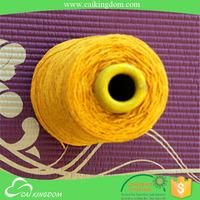 oeko-tex certification 12/3 polyester cotton yan s twist yarn in open end carded yarn