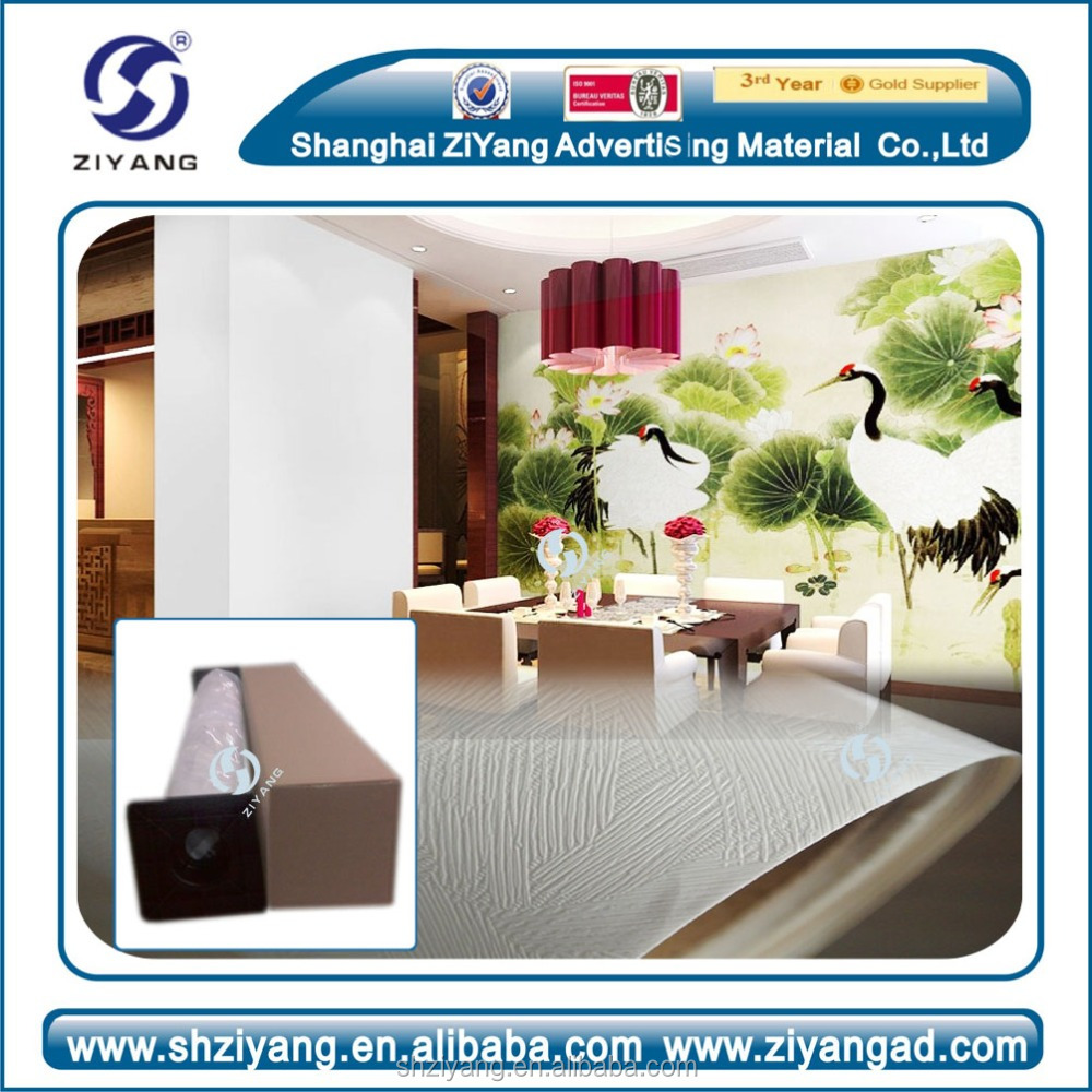 Eco Solvent/ UV /LATEX PRINTABLE wallpaper material Home Interior Wall Paint